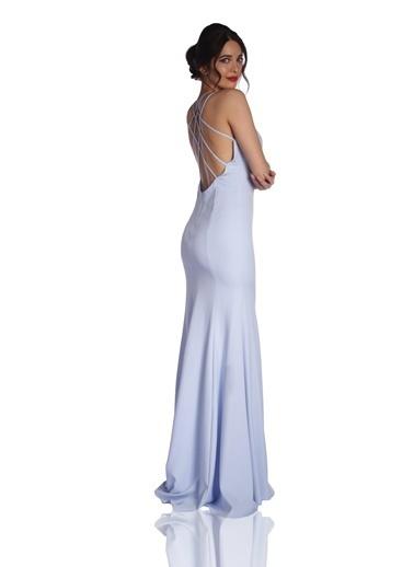 179b8268467a7 6ixty8ight Uzun Abiye Elbise Mavi 6ixty8ight Uzun Abiye Elbise Mavi